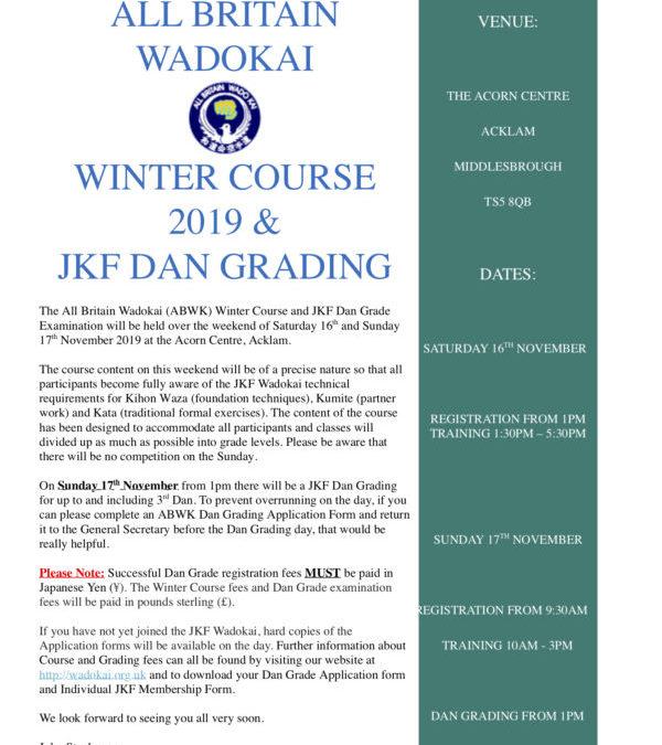 ABWK Winter Course 2019